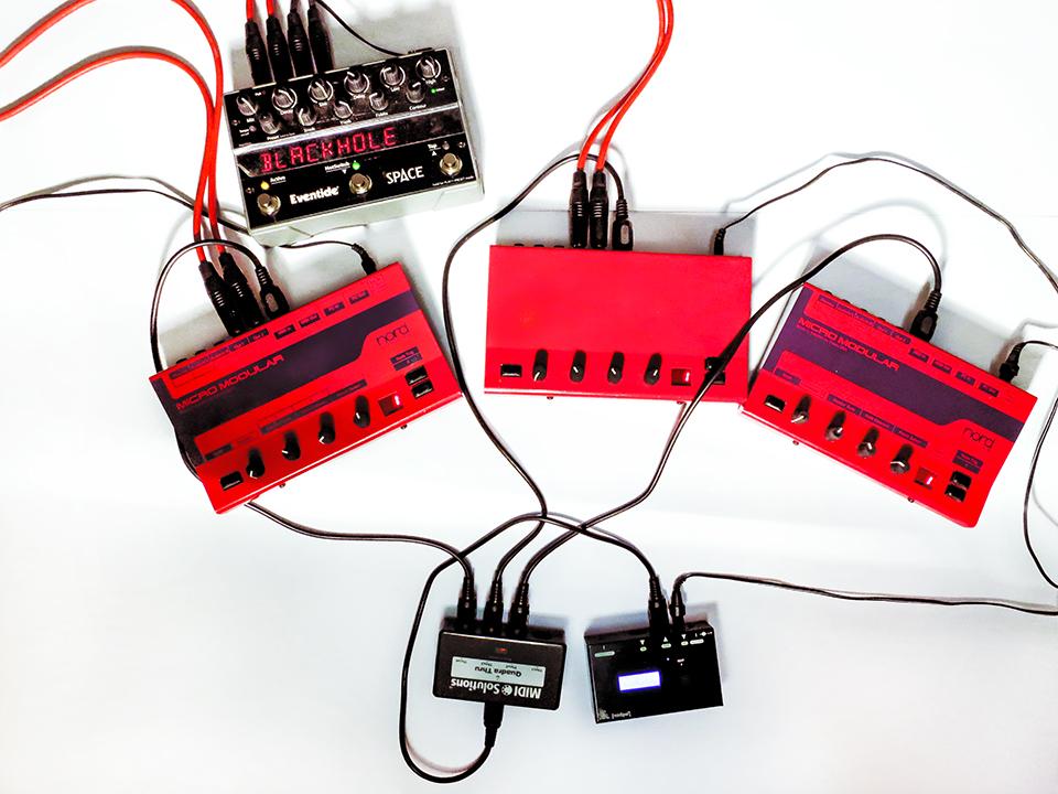 3-Micro-modulars+-1Midi-Pal+-Space-Echo_Ina